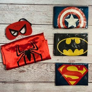 Super Hero • Cape & Mask set